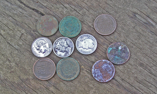 """Not a """"lot"""" of coins but they are keepers"""