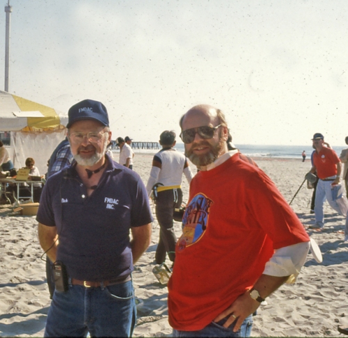 Alan Holcombe and I, FMDAC Hunt, 1984
