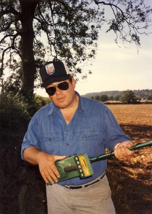Mr. Cool...John Howland, Roman site, UK, 1988