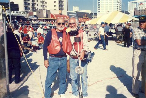 Dick Tichian and Jimmy Sierra, FMDAC Hunt, mid 80's