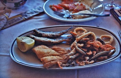 Lunch break, Burano, Italy 1993