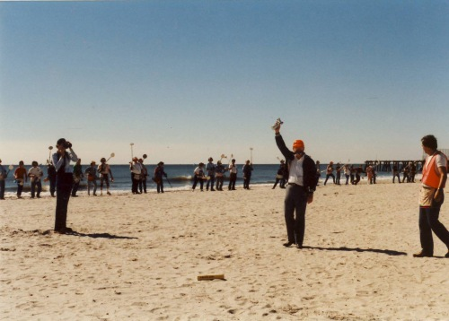 Charles Garrett starting FMDAC Weekend, Atlantic City, 1986