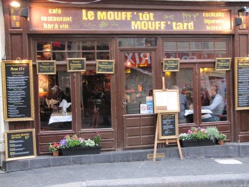 rue mouffetard, one of my favorite areas, Paris