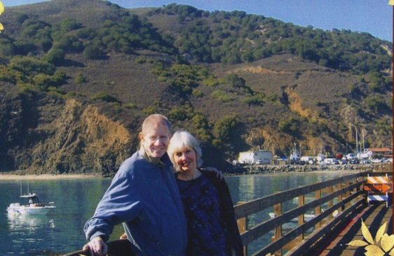 The late Jim Lewellen (Fisher Labs CEO) and his wife Carol....