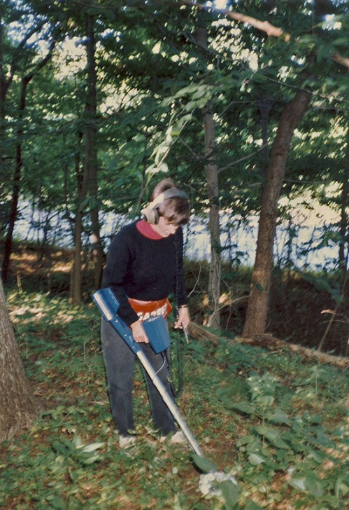 Fay hunting Boy Scout Camp, early 80's