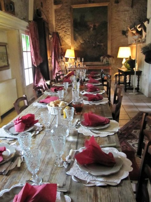 Sunday dinner, Forcalquier, France, 2008...nothing like it!