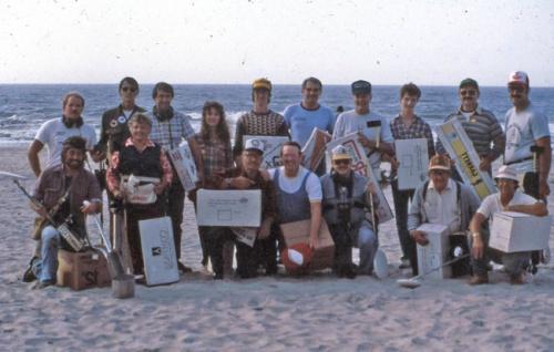 17 metal detector winners, FMDAC Hunt,1987.........