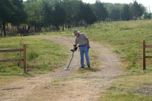 Hunting field in Rockwall, Texas