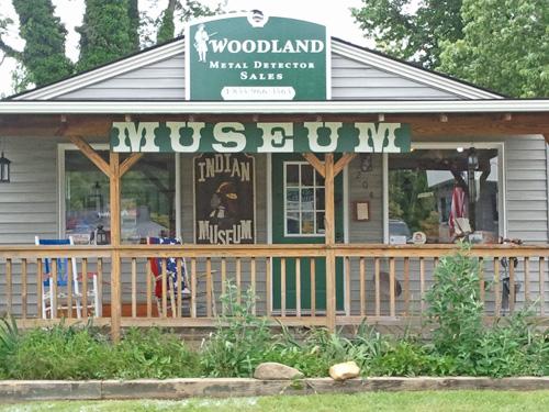 Woodland Metal Detector Sales & Museum