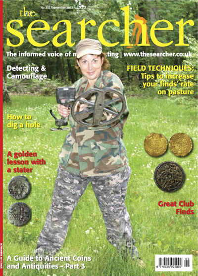 "The Diva on a recent ""Searcher"" issue"