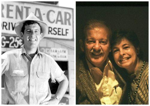 Early photo of Joe, and Joe & his lovely wife, Irene, 1986