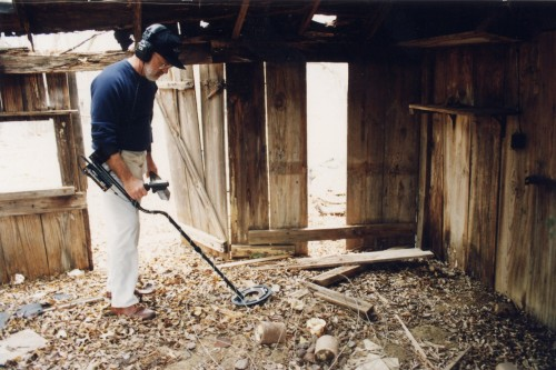 Always give outbuildings a thorough search...