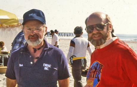 Alan and I, circa 1986