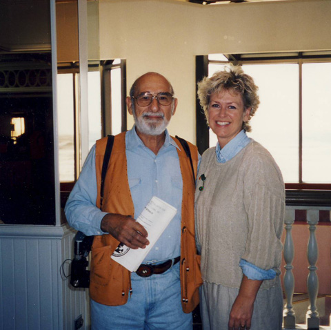 Dick & Rosemary Anderson, managing editor of Western & Eastern Treasures