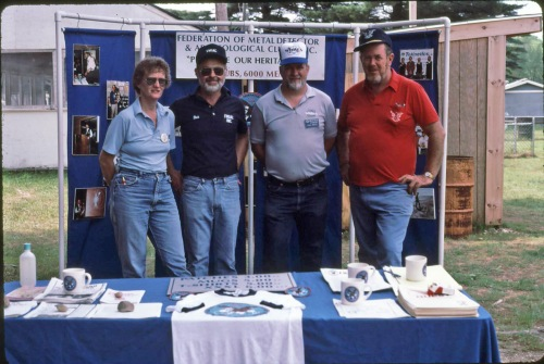 From the 80's...Eleanor Hube, yours truly, the late Paul White and the late Jack Hube.