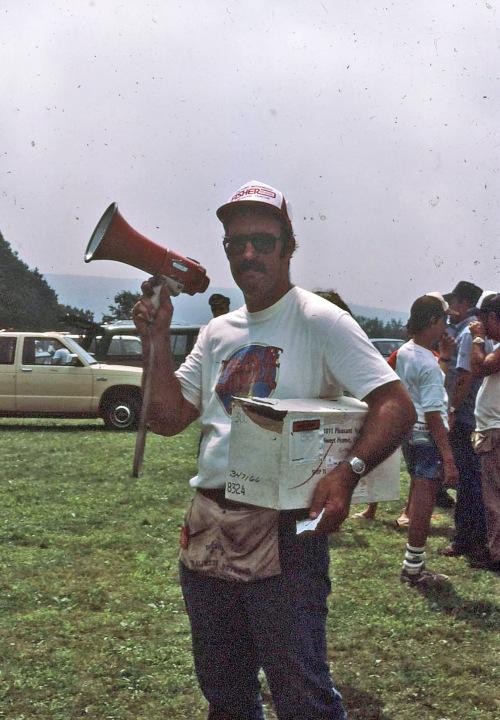 Huntmaster Ed Burke, Black Diamond Hunt, early 80's...