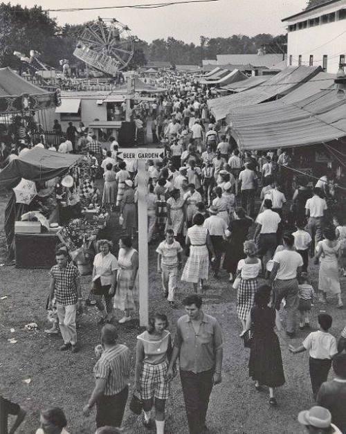 Old photo Flemington Fair...
