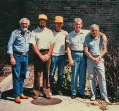 Jimmy Sierra, Paul, Jim Detloff, Michael Paul Henson and Bill Smith