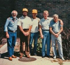 Jimmy Sierra, Paul, Jim Detloff, Michael Paul Henson and Bill Smith
