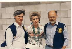 Bob Podhrasky, Della Ruth Huntley & Dick Stoiut