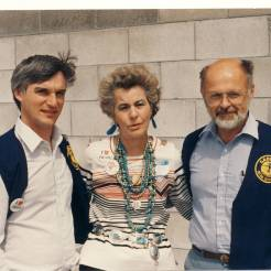 Bob Podhrasky, Della Ruth Huntley & Dick Stoiut