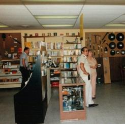 Inside Paul's Shop Treasure Unlimited
