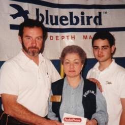 Paul with the late Sondra & Michael Bernzweig