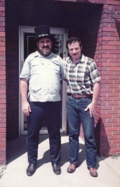 The late Richard Ray and Paul Tainter