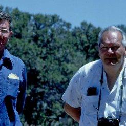 Glenn Carson and Karl von Mueller (Glenn Stubert photo)
